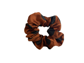 "Scrunchie ""DOTS"" - Rust"