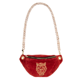 "Crossbody bumbag NEW -""TIGER""- Vintage Red"