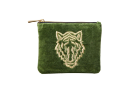 "Etui ""TIGER"" - Velvet Green - S"