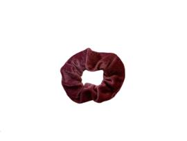 """Scrunchie Velvet """"UNI"""" - Pink"""