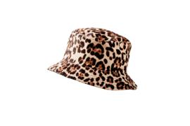 Fishermans HAT Leopard light/Black