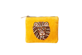 LION Wallet  & key-chain- VELVET
