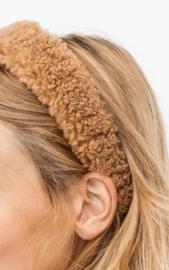 Teddy  headband - brown