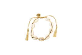 Big Shells Anklet - Gold