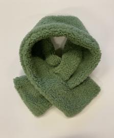Teddy scarf- winter mint