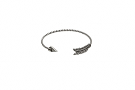 """Panah Bulu"" Bracelet-silver"