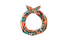 Summer Headbands - Orange Flowers