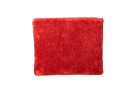 """Etui """"UNI"""" - Velvet Vintage Red - S"""