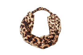 Headband FAVOOM leopard brown