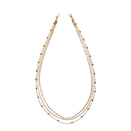"""Triple layered Necklace & Suncord """"CHAIN IT UP"""""""
