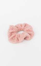 Teddy scrunchie -Pink