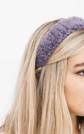 Teddy  headband - purple