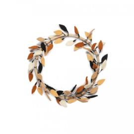 Flower hoop - Leaves