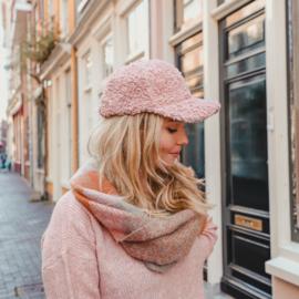 Teddy cap - pink