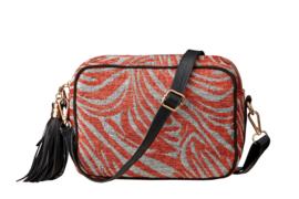 Buluci Handbag - ''ZEBRA'' - Rust