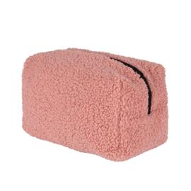 Teddy make-up bag - Light pink