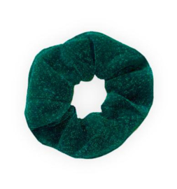 """Scrunchie """"GLITTER"""" Green"""