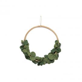 Flower hoop - Eucalyptus