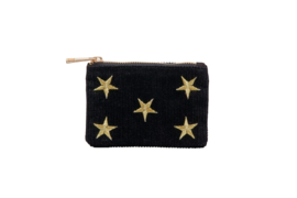 "Etui ""SHINE BRIGHT LIKE THE STARS""- Black & Gold - XXS"