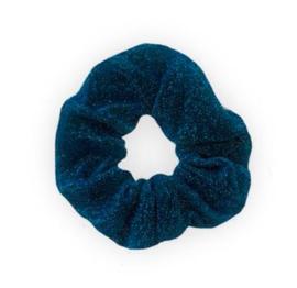 """Scrunchie """"GLITTER"""" Blue"""