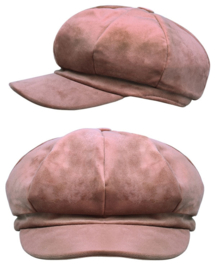 Velvet Cap lt. pink
