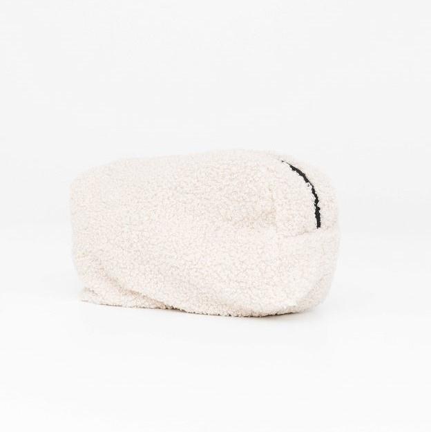 Teddy make-up bag - Off white