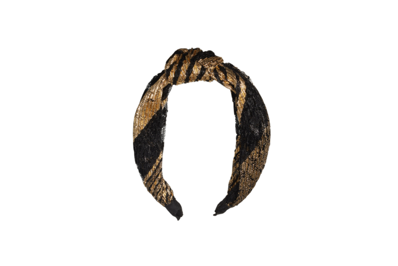 PARTY Everyday HEADBAND- black & golden- LIMITED EDITION