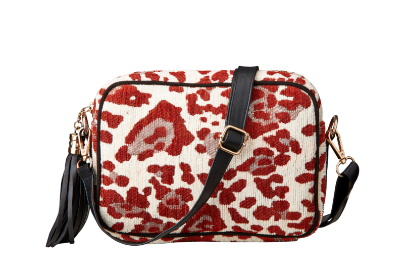 Buluci Handbag - ''LEOPARD'' - Rust