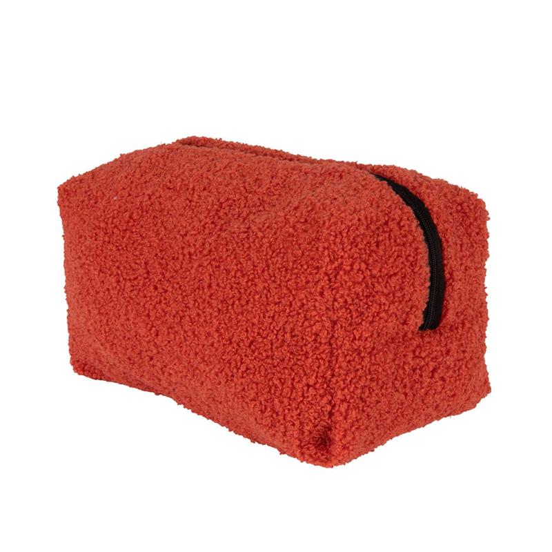 Teddy make-up bag - Hot Coral