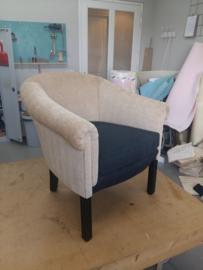 Gestoffeerde fauteuil