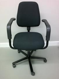 Bureaustoel gestoffeerd