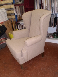 Fauteuil na herstoffering