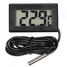 Digitale thermometer met meetsonde