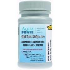 Aquaforte 5 in 1 teststrips voor vijvers & aquaria