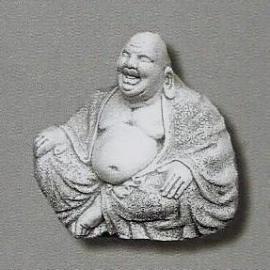 Lachende boeddha 30cm