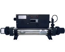 Elecro koi pond heater digitale vijververwarming titanium