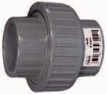 PVC 3/3 Koppeling met O-ring Econo-line