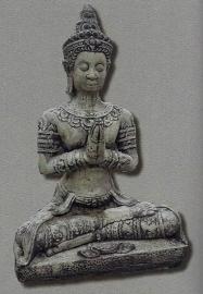 Mediterende boeddha 75cm