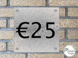 Naambordje €25