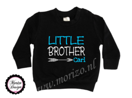Sweater Little brother pijl  *naam*