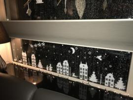 Raamversiering statisch kerst, herfst, sinterklaas, halloween, st maarten wit