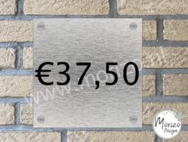 Naambordje €37,50