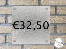Naambordje €32,50