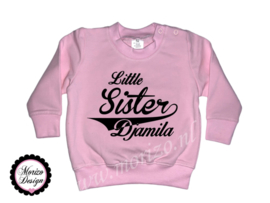 Sweater Little sister *naam*