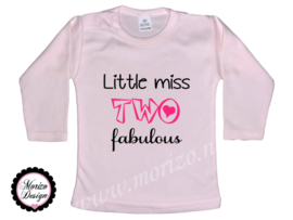 Little miss TWO fabulous