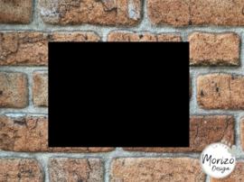 Plexiglas mat zwart 15x20cm