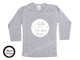 Shirt - Hello I'm new here
