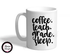 Mok coffee teach grade sleep