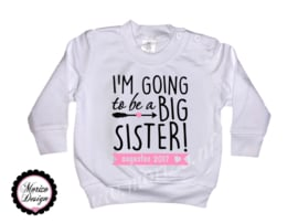 sweater I'm going to be a big sister