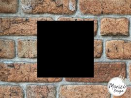 Plexiglas mat zwart 15x15cm